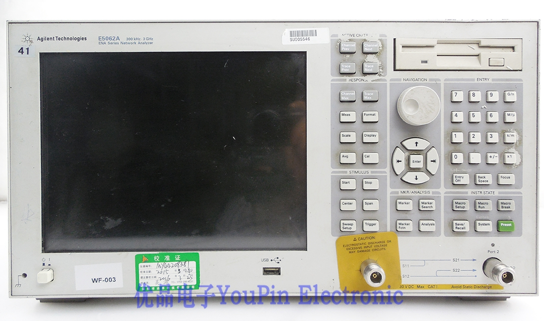 Keysight(Agilent) E5062A ENA-L RF Network Analyzer